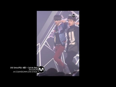 [MPD/Fancam] 150409 EXO SeHun(엑소 세훈 직캠) - Call Me Baby