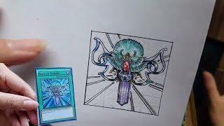 Draw Yugi-Oh Card | Vẽ bài Yugioh - Monster Reborn | Hồi Sinh Quái Thú