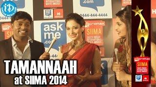 Actress tamannaah bhatia funny comments @ siima 2014, malaysia