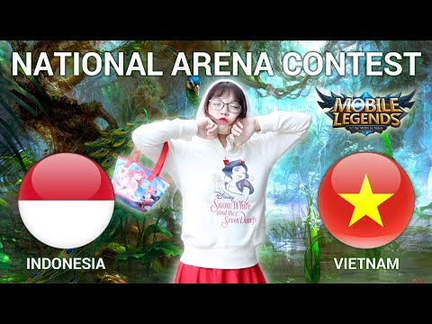 INDONESIA VS VIETNAM - National Arena Contest Cast by Kimi Hime - 23/04/2018