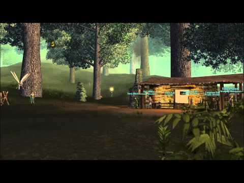 DAoC Albion Campacorentin Forest Live Ambient music (day)
