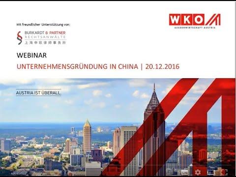 Unternehmensgründung in China - Das neue Gesetz zum 1. Oktober und was es für Sie bedeutet