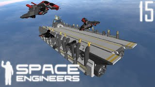 Space Engineers Shipyard: Avocet's Nest Carrier