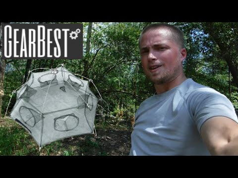 GearBest 6 Angles Fishing Net Review