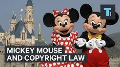 Mickey Mouse and copyright law