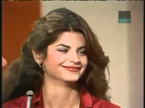 Match Game syndicated: Kirstie Alley
