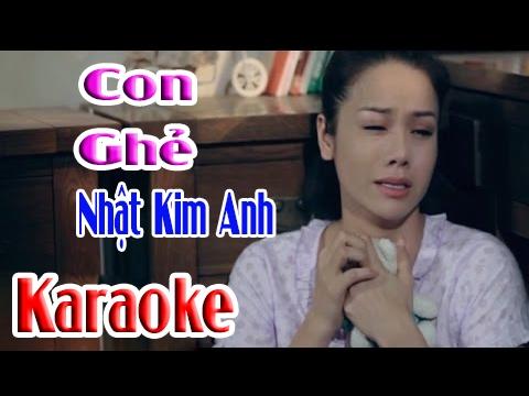 | Karaoke HD | Con Ghẻ - Nhật Kim Anh