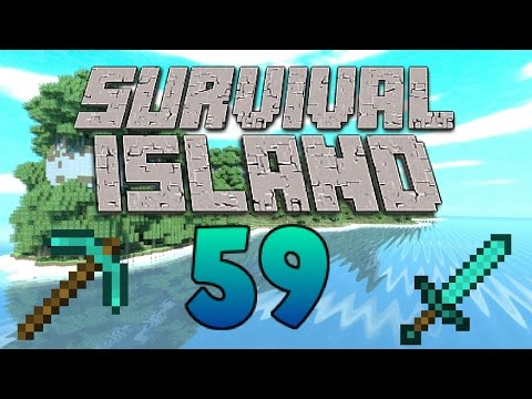To Many Resources! - Mining - (Minecraft Survival Island) - Episode 59