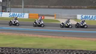 Yamaha AEROX 155 test Balap di Circuit Buriram Thailand.