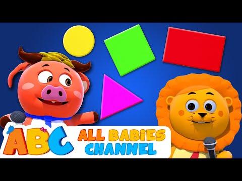Shape Song   Nursery Rhymes & Kids Songs   All Babies Channel