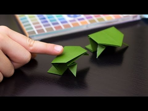 Papercraft How To Fold An Origami Frog
