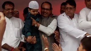 MP CM quits wearing skull cap on Eid