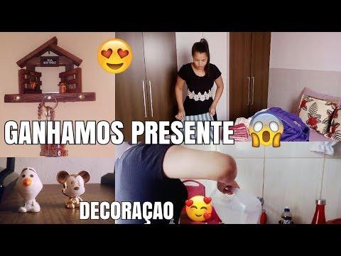 FINALIZANDO A FAXINA 😊 / GANHAMOS PRESENTE 😍 / DECORAÇÃO - Tati Pereira thumbnail