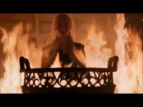 Игра престолов (6 сезон 4 серия) - Лучший момент. Дейнерис Таргариен, Неопалимая