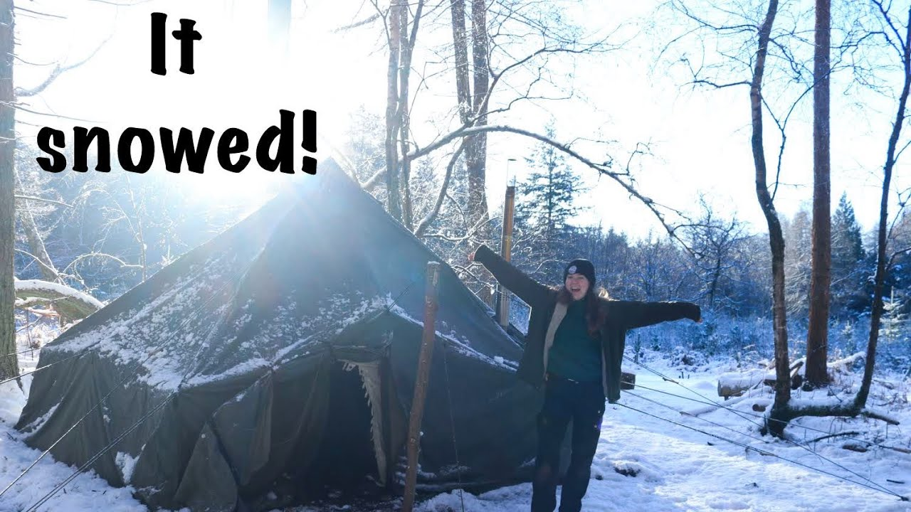 Download Tour of my New Arctic Tent | Winter Hot Tenting