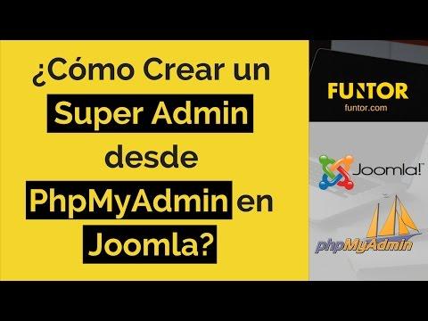 🔴 Como Crear Un Nuevo Usuario En Joomla Desde Phpmyadmin | Funtor