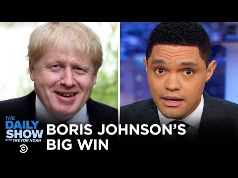 What Should The U.S. Learn From Boris Johnson's Victory? | The Daily Show