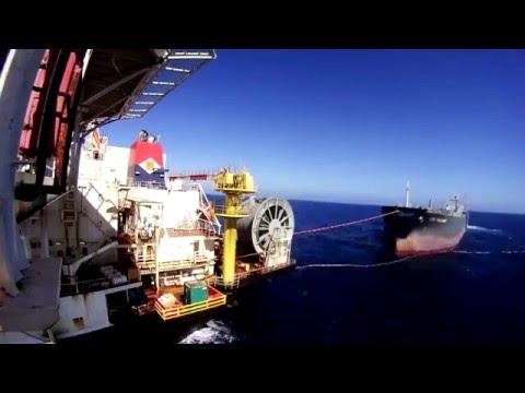 Time Lapse Shuttle Tanker Berthing