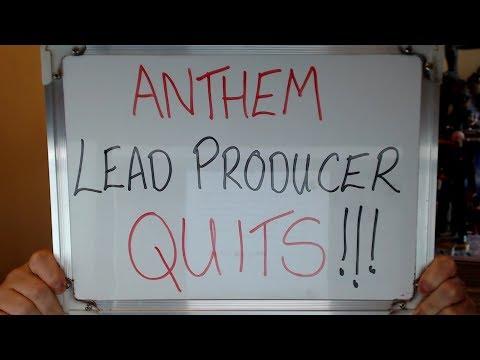 ANTHEM Lead Producer QUITS BIOWARE !!