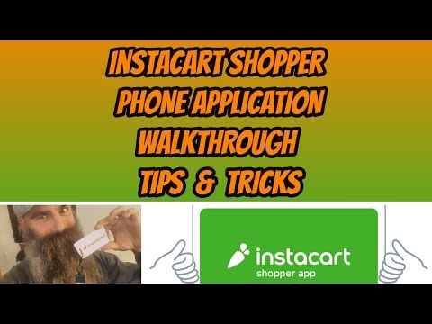 Instacart Shopper | App Walkthrough, Tips, and Tricks - YouTube