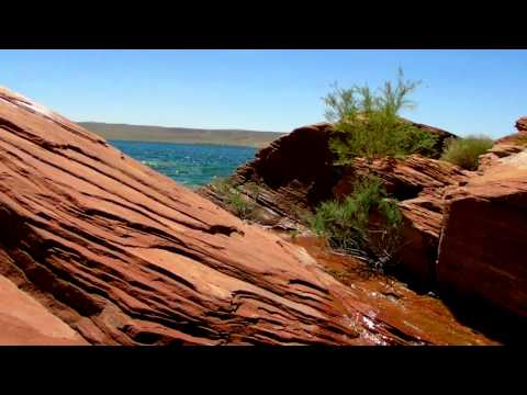 "Steve & I experienced ""Paradise"" at Sand Hollow Reservoir near St George, Utah on 6-17-12"