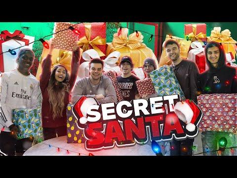 Unboxing The PERFECT Secret Santa Gifts! Ft. Valkyrae, Nadeshot, Noahj456