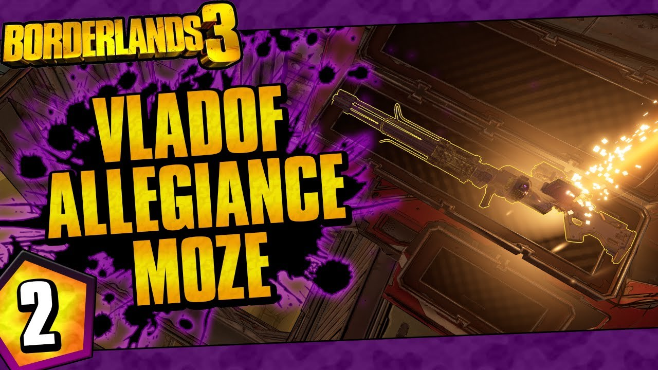 Borderlands 3 | Vladof Allegiance Moze Funny Moments And Drops | Day #2 thumbnail