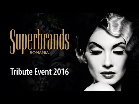 Superbrands Romania - Tribute Event 2016