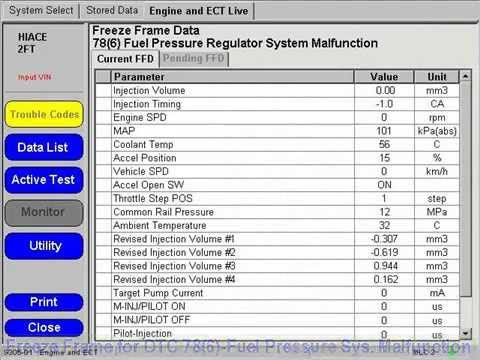 Toyota Wiring Diagram Symbols Common Rail D 4d Dtc 78 6 Troubleshooting Youtube