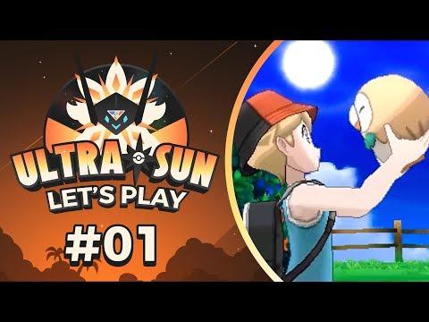 Pokemon UltraSun - EP01 | Who is the Blinding One?!