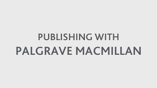 Publishing with Palgrave Macmillan