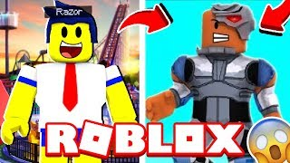 I TURNED THE CYBORG OF YOUNG TITANS IN ROBLOX