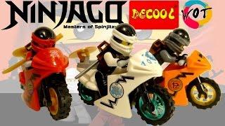 Хороший аналог Лего Ниндзяго Ниндзя на мотоциклах Decool
