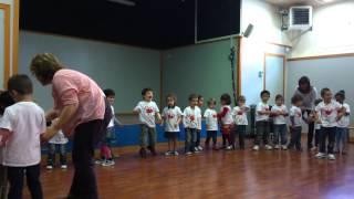 Открытый урок музыки в каталанской школе.
