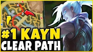 *NEW PATH* #1 KAYN STRATEGY = FREE WINS (LITERAL FREELO) - League of Legends