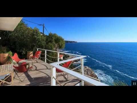 Nice • CAP DE NICE: Art Deco villa vid stranden