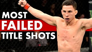 10 Fighters With The Most Failed Zuffa/UFC Title Shots