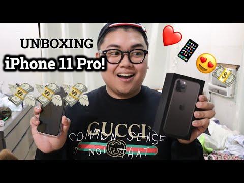 IPhone 11 Pro DUAL SIM Unboxing! 💸