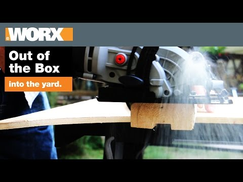 WORXSAW Compact Circular Saw | Out of the Box