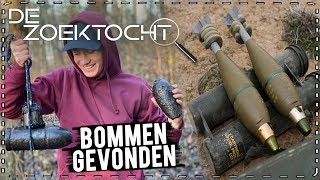 ➤ DE ZOEKTOCHT #6: MAGNEETVISSEN... BOMMEN / MUNITIEMAGAZIJN GEVONDEN!