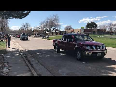 Lumberg Elementary School Car Parade