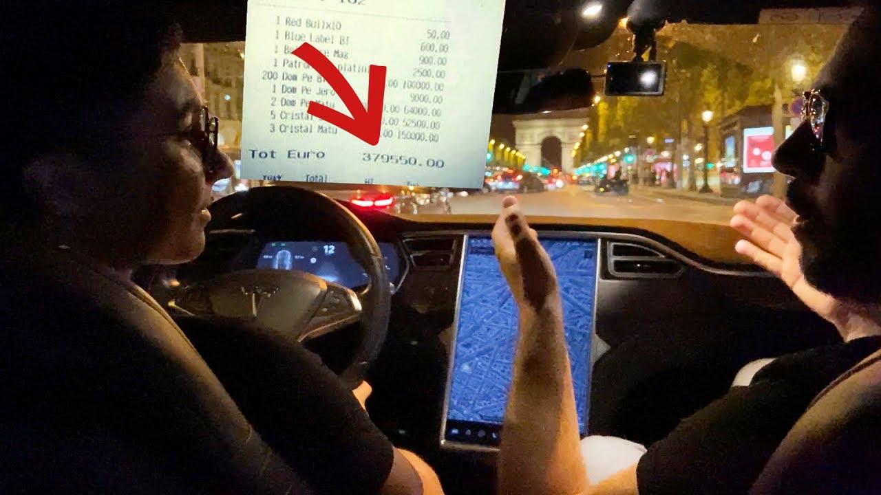 La vie de milliardaire avec Nando ! Addition à 450'000€ 😱