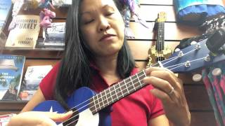simplified ukulele tutorial for edelweiss sound of music