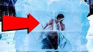 Top 10 WEIRDEST THINGS Found FROZEN IN ICE
