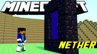 Minecraft: Sobrevivência - Portal do Nether