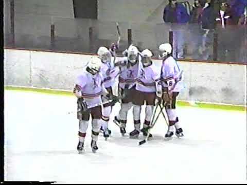 Somersworth High School Hockey VS Spaulding High School Hockey 1989-1990
