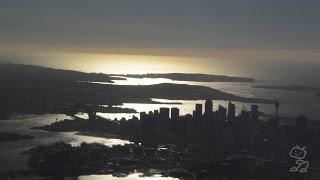 【機窓】シドニー国際空港離陸