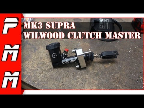 Supra Wilwood Clutch Master Cylinder Conversion Upgrade