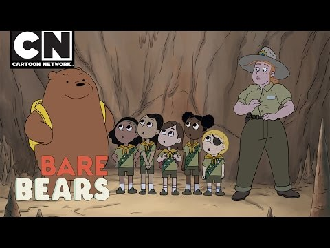 We Bare Bears | Grizz Scout | Cartoon Network