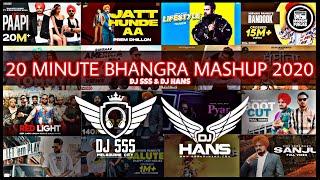 20 Minutes Bhangra Mashup 2020 - DJ HANS & DJ SSS | New Punjabi Songs 2020 | Modern Punjab